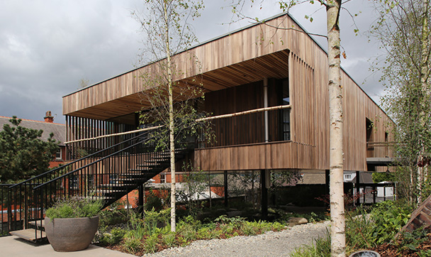 Maggie's Oldham wins a RIBA National Award