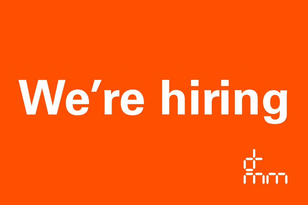 We're hiring – Part II, Part III, Senior Marketing Manager (Associate)