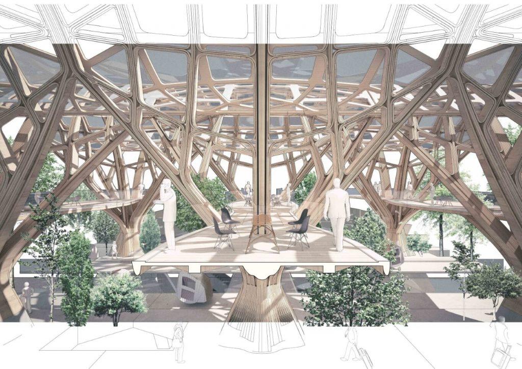London Euston – Finbar Charleson, Part 2 Project 2019, Bartlett School of Architecture, UCL, London, UK