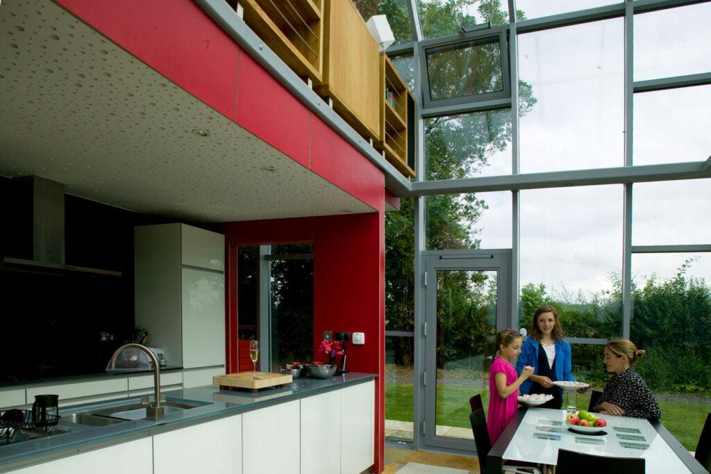 Kitchen/dining solarium