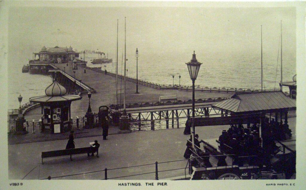 1872-1899 View of Hastings pier