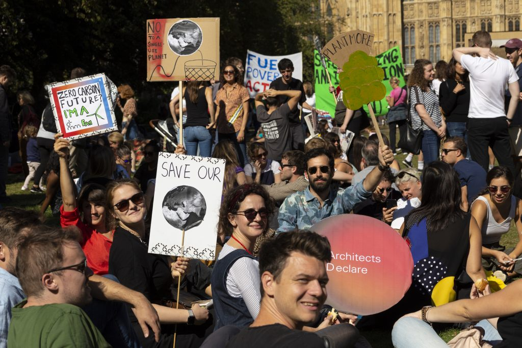 dRMM team at the 2019 Climate Strike